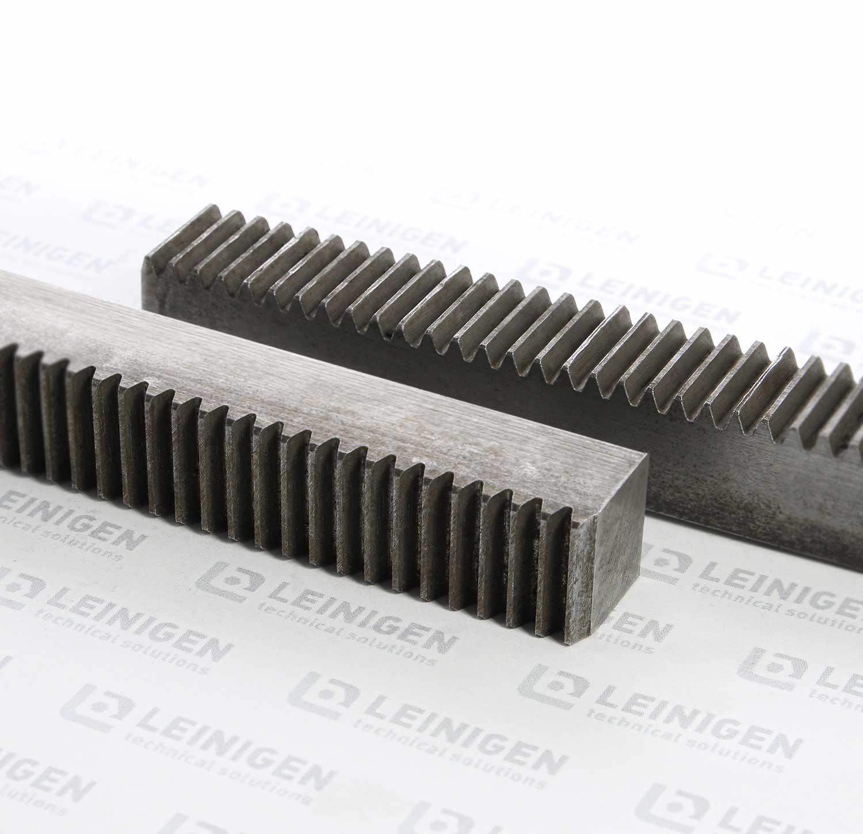 Zahnstangen aus Stahl